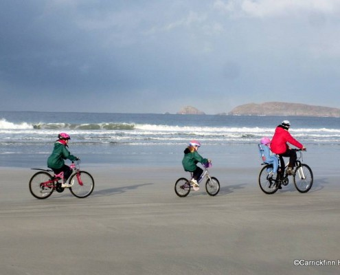 Cycling in Carrickfin