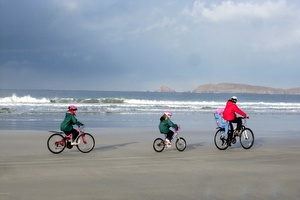 Cycling in Carrickfinn