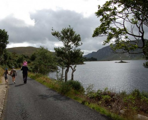 Walking in Glenveagh