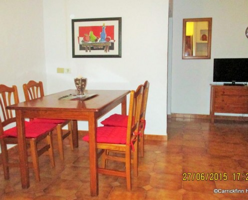 Apartment Dining Area