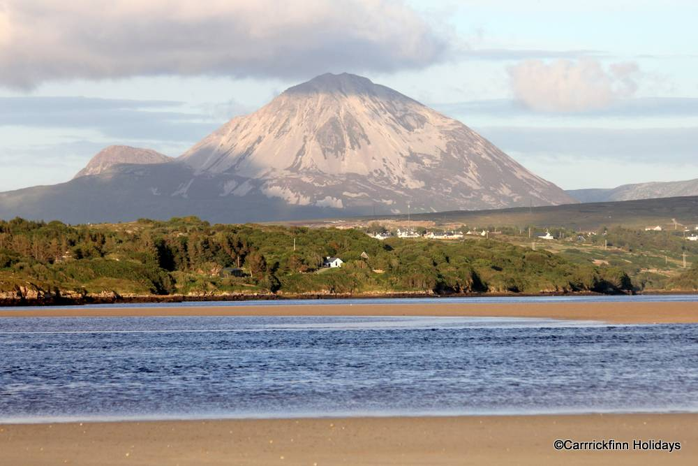View of Errigal from Carrickfinn